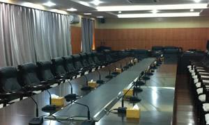某市市委党委会议室4